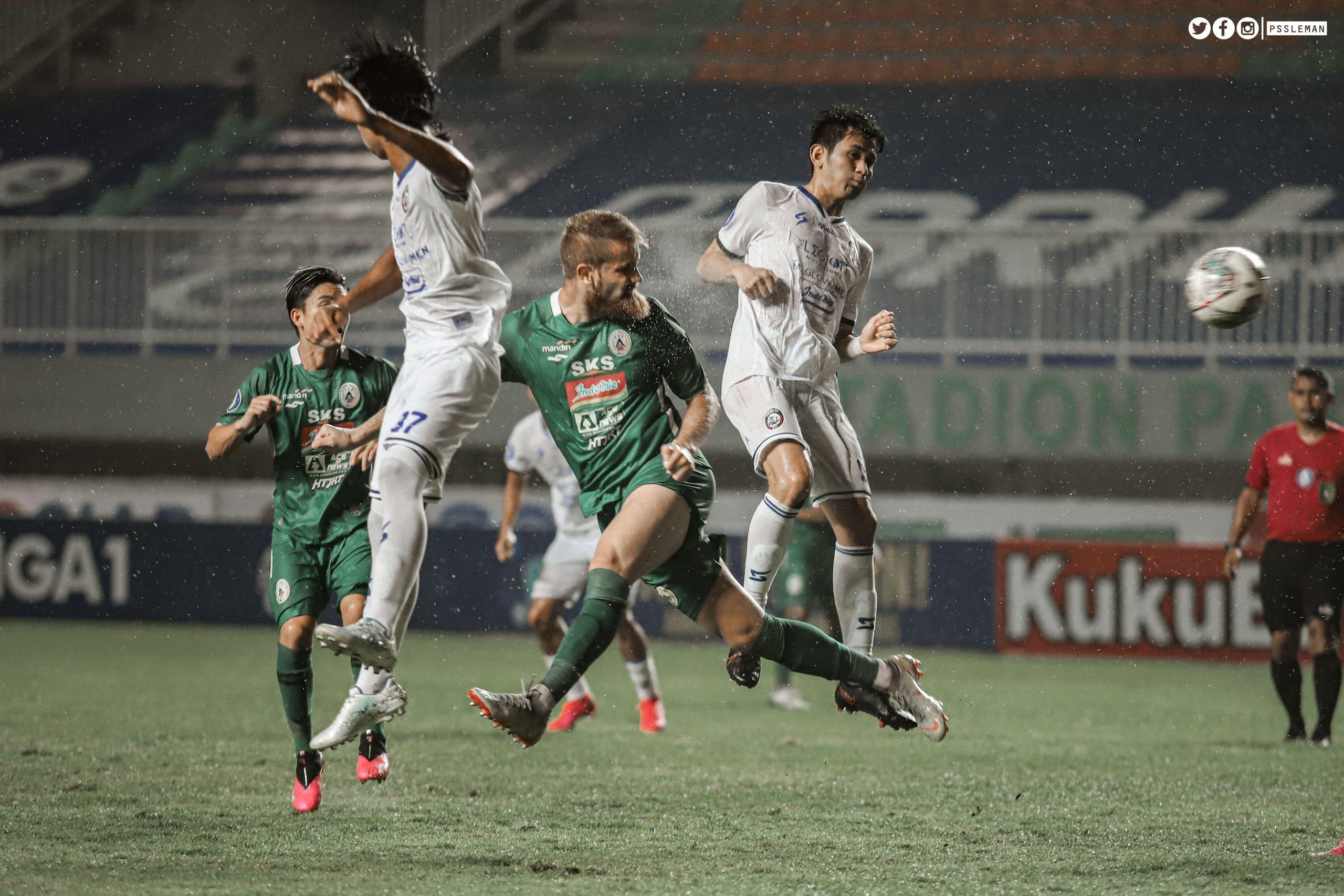 BRI LIGA 1 2021/22 PSS VS AREMA FC